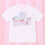 H2007 Kawaii Comic T-shirt 14 Versions