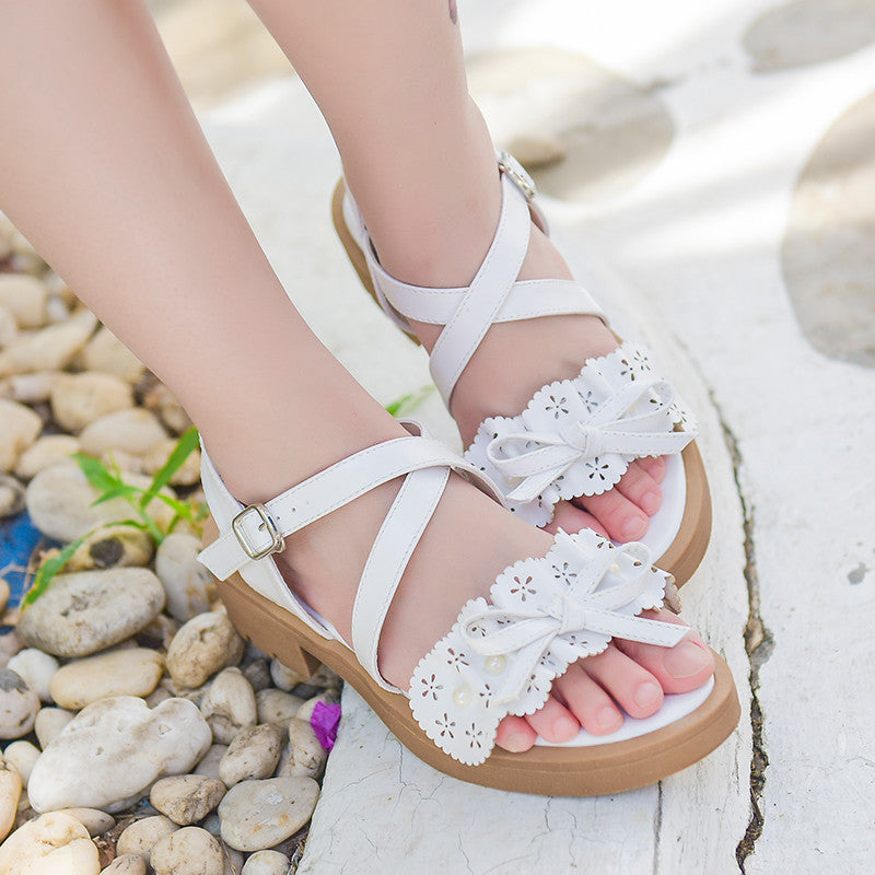 H2000 Sweet Girls Hollow Out Sandals