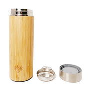 Bamboo Tumbler with Tea Strainer