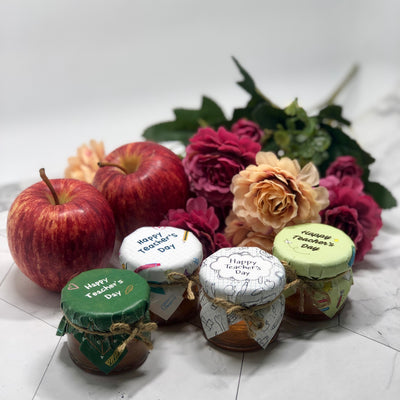 Teacher's Day Honey Gifts with Ready-made Designs
