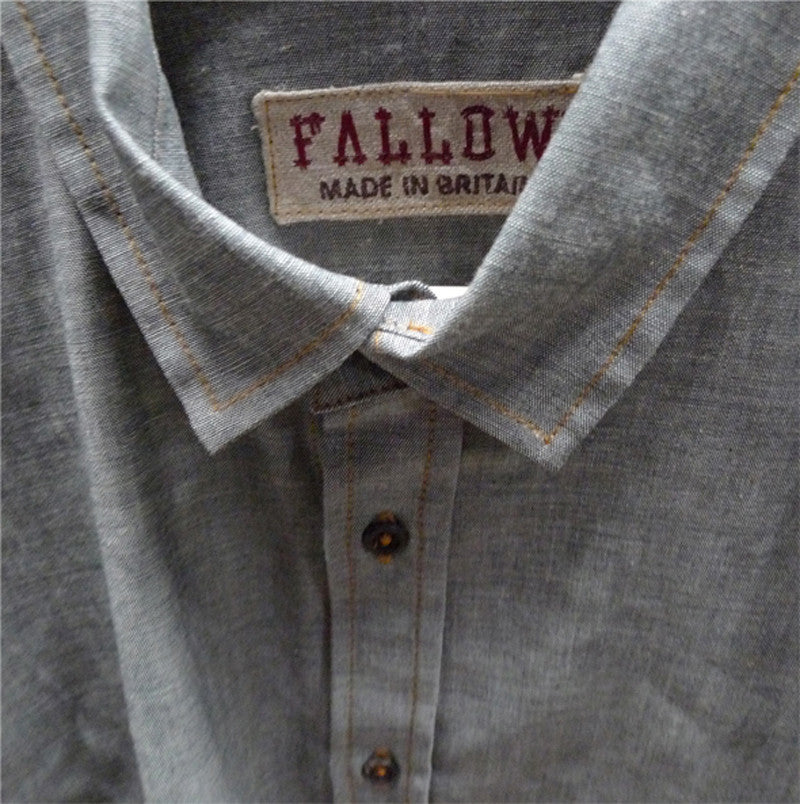 FALLOW JAPANESE CHAMBRAY SHIRT