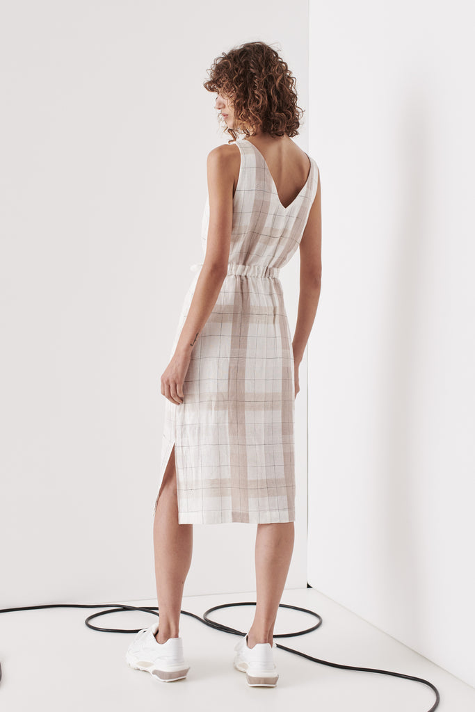 Brighton Dress - Nude Check
