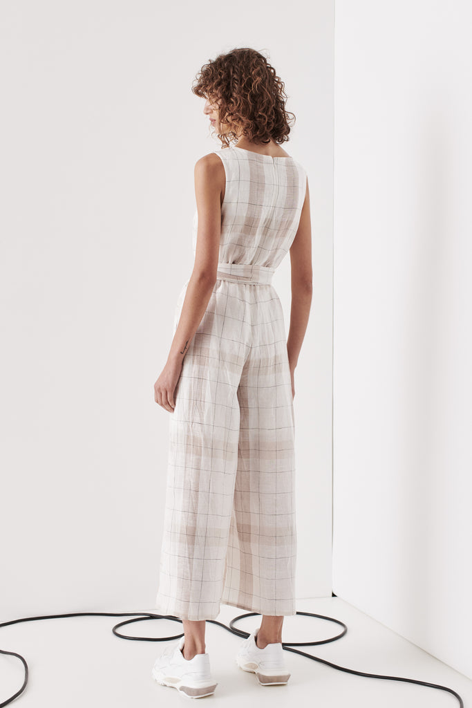 Brighton Jumpsuit - Nude Check