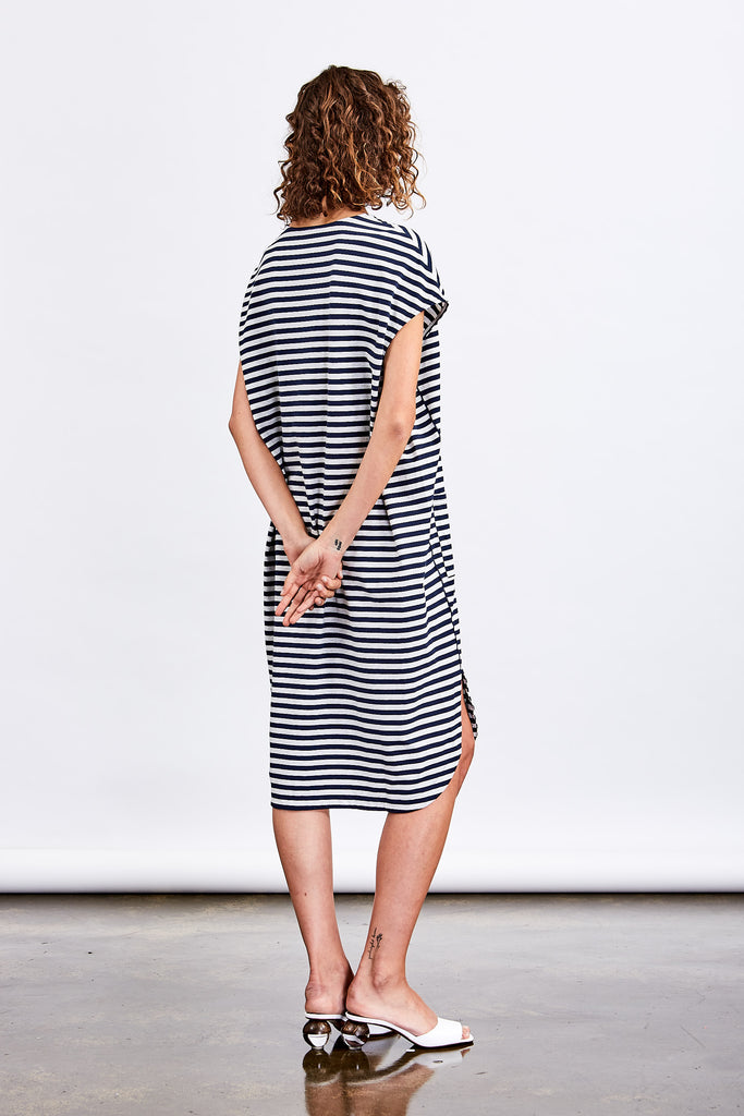 Lounge Patch Pocket Tshirt Dress