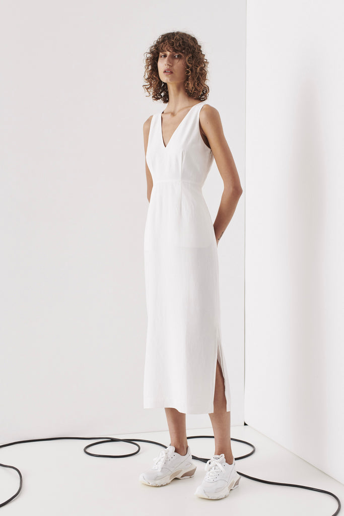 Toorak Dress - White