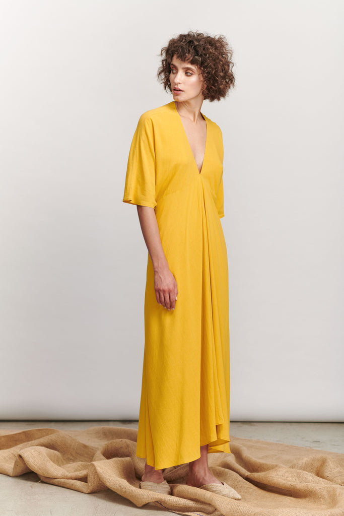 Paris Dress - Ochre