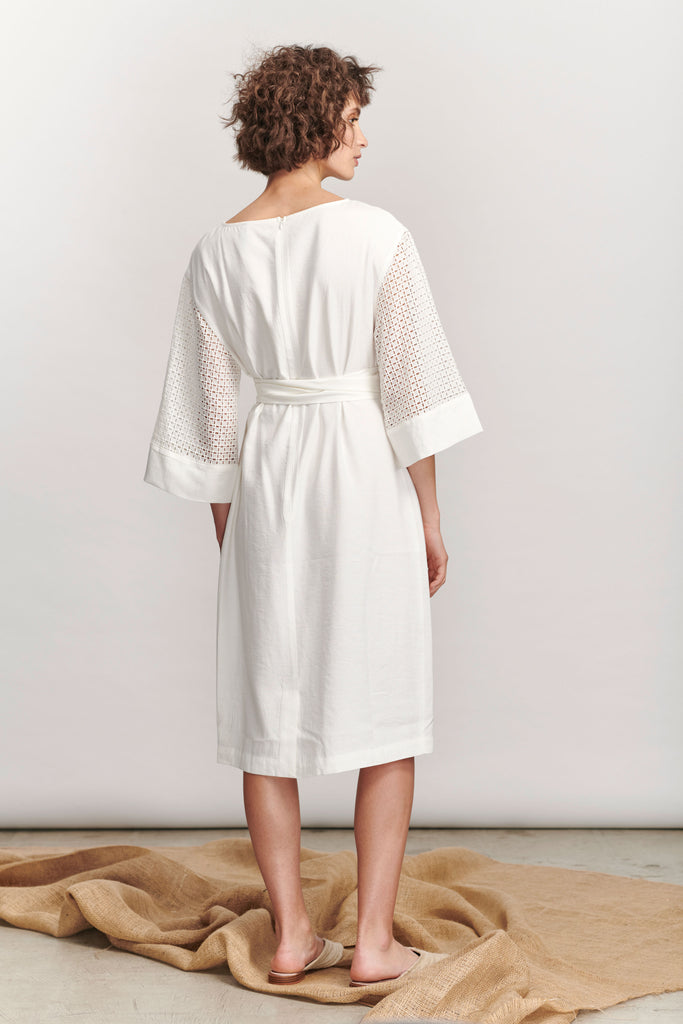 Marseille Dress - White