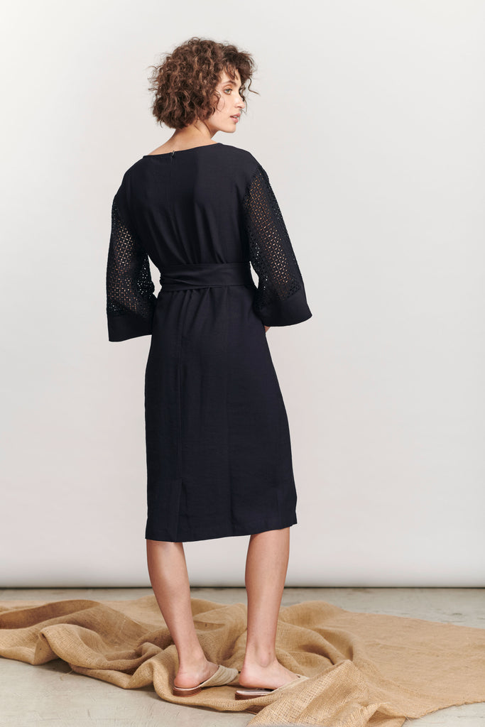 Marseille Dress - Navy