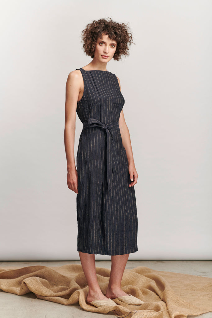 Rinae Dress - Navy