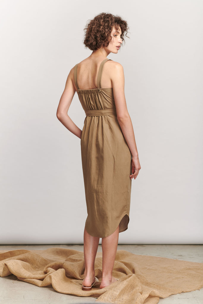 Rinehart Dress - Khaki