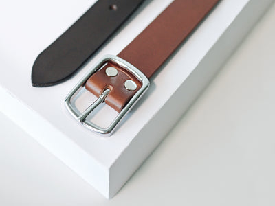 Straight From The Studio:   How To Make A Leather Belt