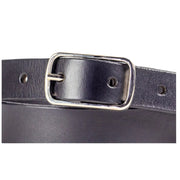 20mm Black Leather Belt - Harrisson Australia