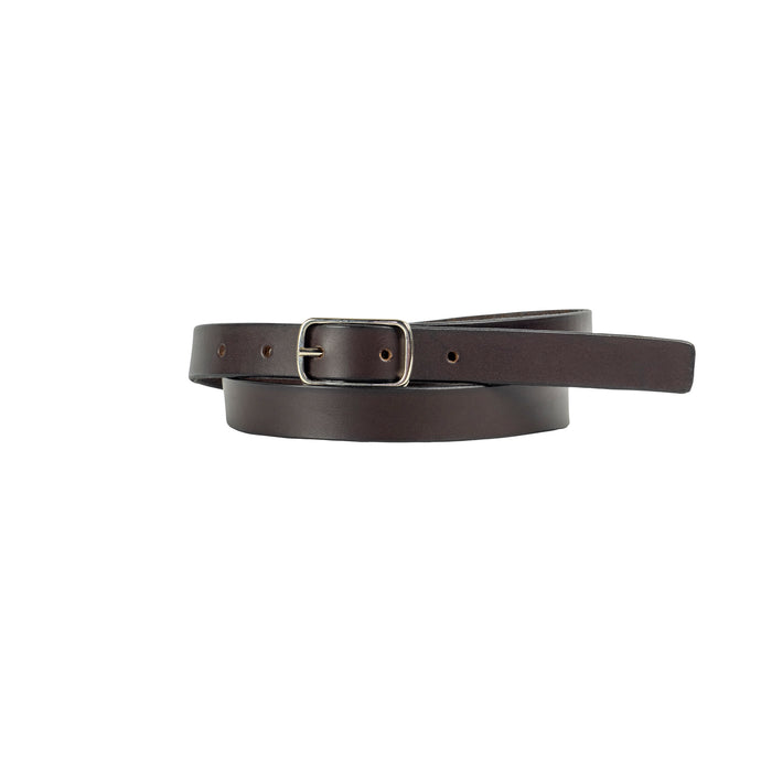 20mm Brown Leather Belt