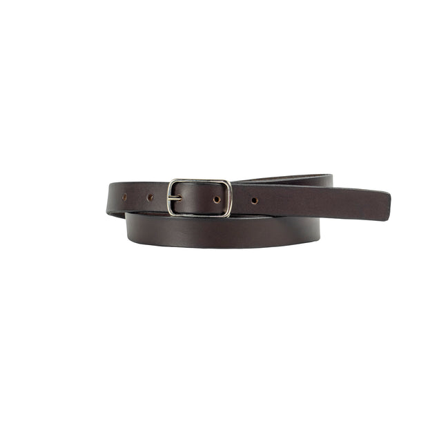 20mm Brown Leather Belt - Harrisson Australia