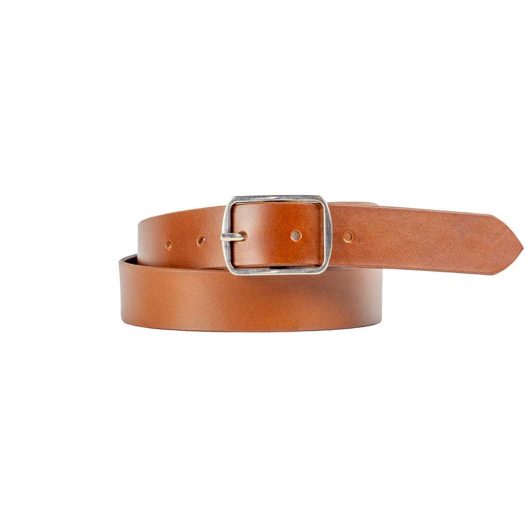 30mm Tan Leather Belt