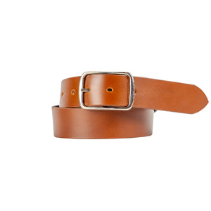 40mm Tan Leather Belt