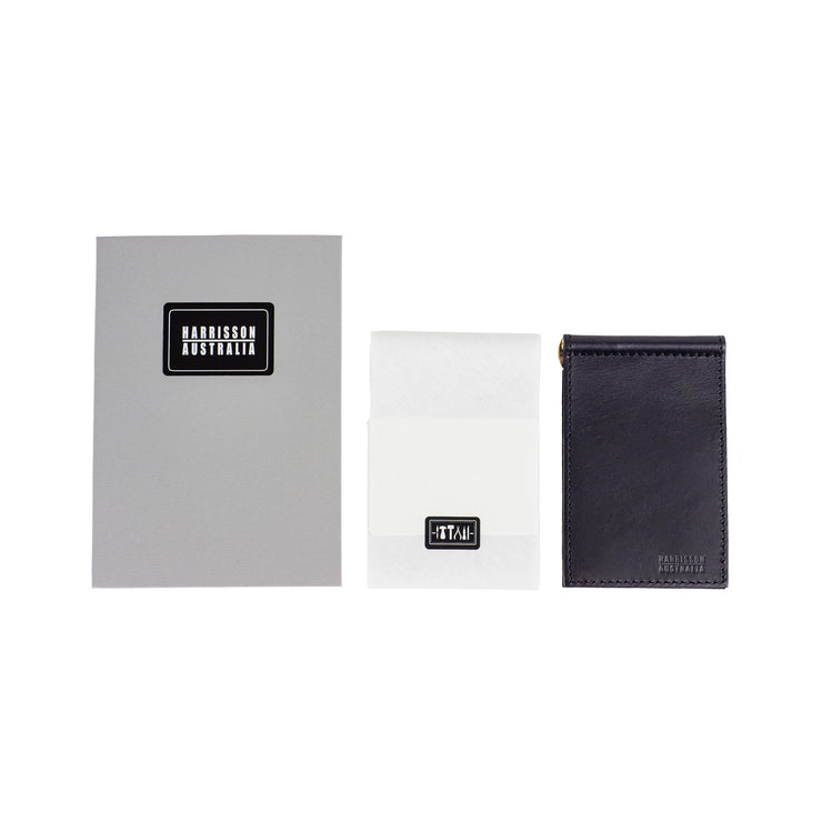 Limited Offer, Black Billfold Wallet With Matching Keyring - Harrisson Australia