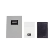 Limited Offer, Black Billfold Wallet With Grey Stitching and Matching Keyring - Harrisson Australia