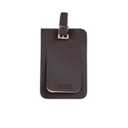 Leather Luggage Tag Brown - Harrisson Australia