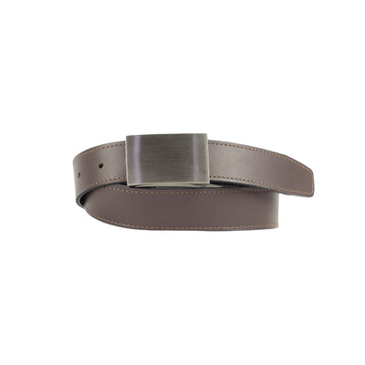 Black and Brown 32mm Reversible Leather Belt - Harrisson Australia