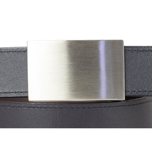 Black and Brown 32mm Reversible Leather Belt