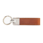 Leather Keyring Tan - Harrisson Australia