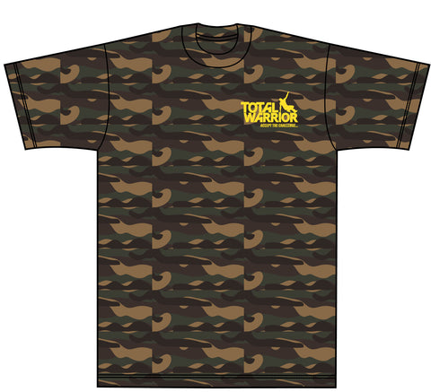 Total Warrior 2017 Camouflage T-Shirt