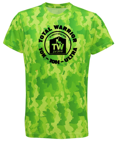 MEN'S TOTAL WARRIOR HEXOFLAGE™ LIGHTWEIGHT PERFORMANCE T-SHIRT