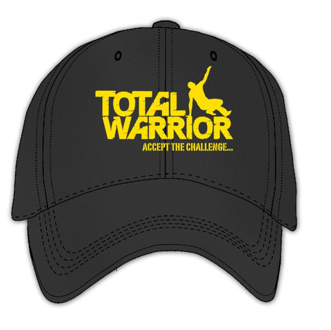 Total Warrior Brushed Cotton Cap - Embroidered Logo