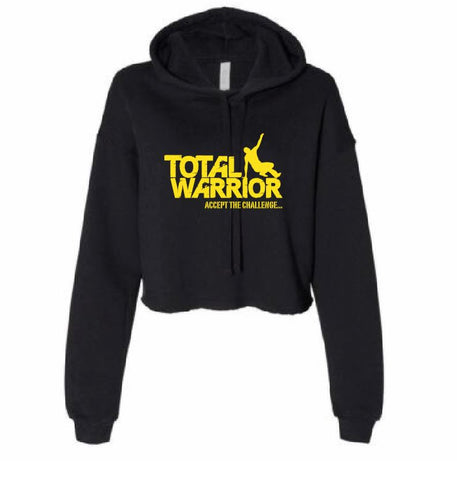 TOTAL WARRIOR 2019 LADIES CROPPED HOODIE