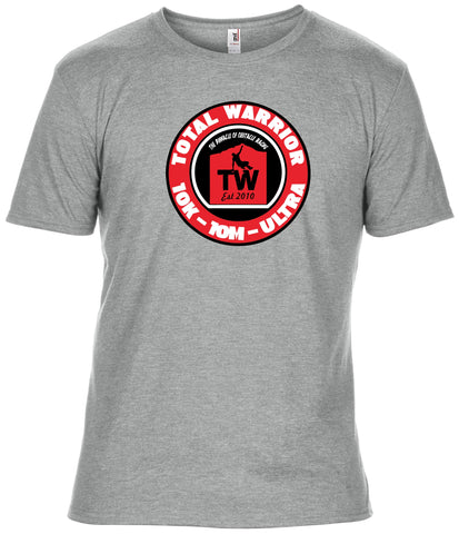 UNISEX TOTAL WARRIOR CIRCLE LOGO TRIBLEND T-SHIRT