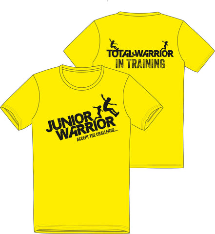 "Total Warrior Kids ""Junior Warrior"" Total Warrior in Training T-Shirt"