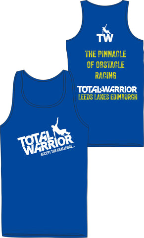 Total Warrior The Pinnacle of Obstacle Racing Men's 2017 Technical Vest Top
