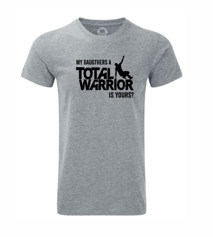 MY DAUGHTERS A TOTAL WARRIOR 2019 MENS GRAPHIC HD TEE