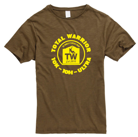 MEN'S TOTAL WARRIOR RAW EDGE COTTON T-SHIRT
