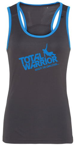 LADIES TOTAL WARRIOR PANELLED FITNESS VEST