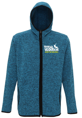 MEN'S TOTAL WARRIOR KNIT FLEECE ZIP HOODIE