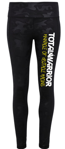 LADIES TOTAL WARRIOR PERFORMANCE FULL LENGTH LEGGINGS