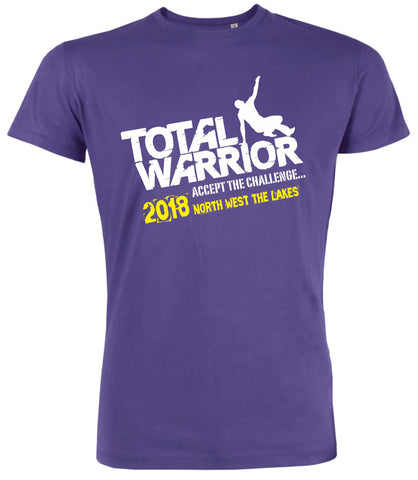 TOTAL WARRIOR 2018 NORTH WEST (SHAP - THE LAKES) LOGO TEAM T-SHIRT