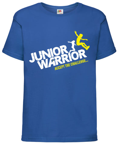 "KIDS JUNIOR WARRIOR ""SMASHED IT"" COTTON T-SHIRT"
