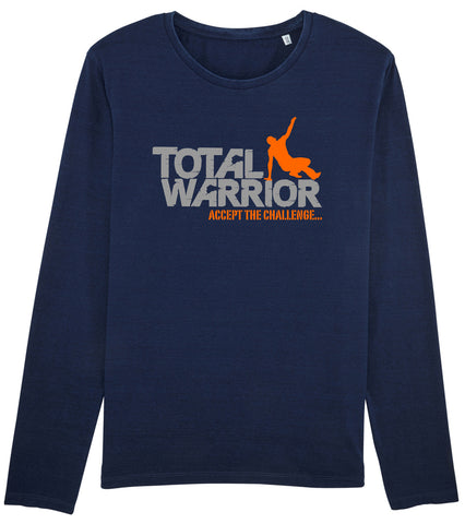 TOTAL WARRIOR TRI-BLEND LONG SLEEVE STRENGTH STAMINA TOP
