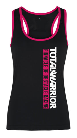 LADIES TOTAL WARRIOR PINNACLE OF OBSTACLE RACING FITNESS VEST