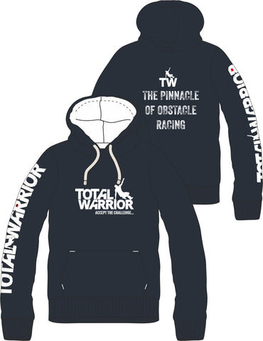 TOTAL WARRIOR 2018 PINNACLE OF OBSTACLE RACING PREMIUM PULLOVER HOODIE