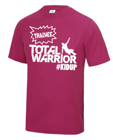 "Total Warrior Kids ""Trainee #kidup"" Training Tech Top"