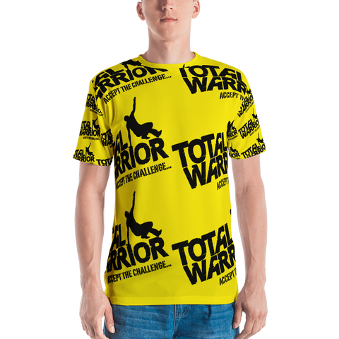 UNISEX TOTAL WARRIOR ALL OVER PRINT T-SHIRT