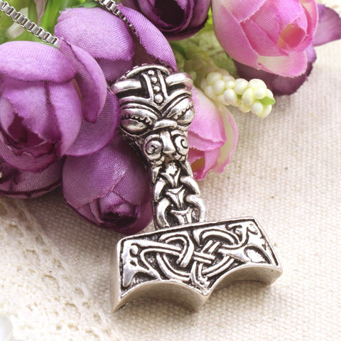 Thor's Hammer Pendant Necklace
