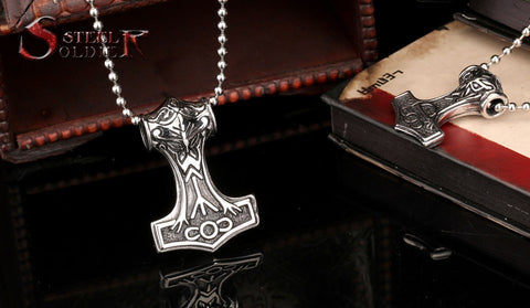 Viking Pendant Thor Necklace