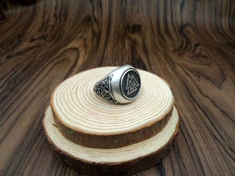Valknut Ancient Viking Ring
