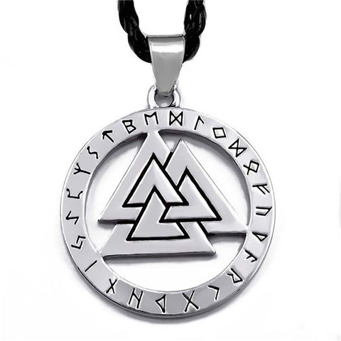 Norse Viking Warriors Amulet