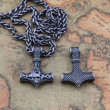Thor's Hammer Scandinavian Necklace